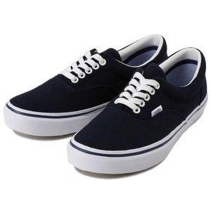 Knit Navy Blue Vans